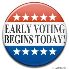 Early Voting begins at the Sycamore Campus